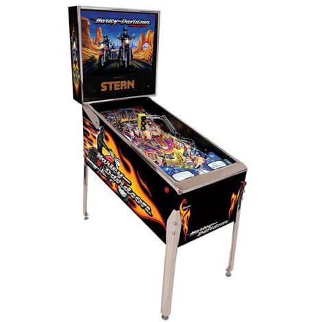 harley-third-edition-pinball-machine