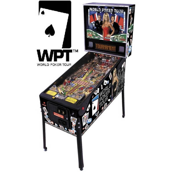 Buy World Poker Tour Pinball Machine online -pinballhem